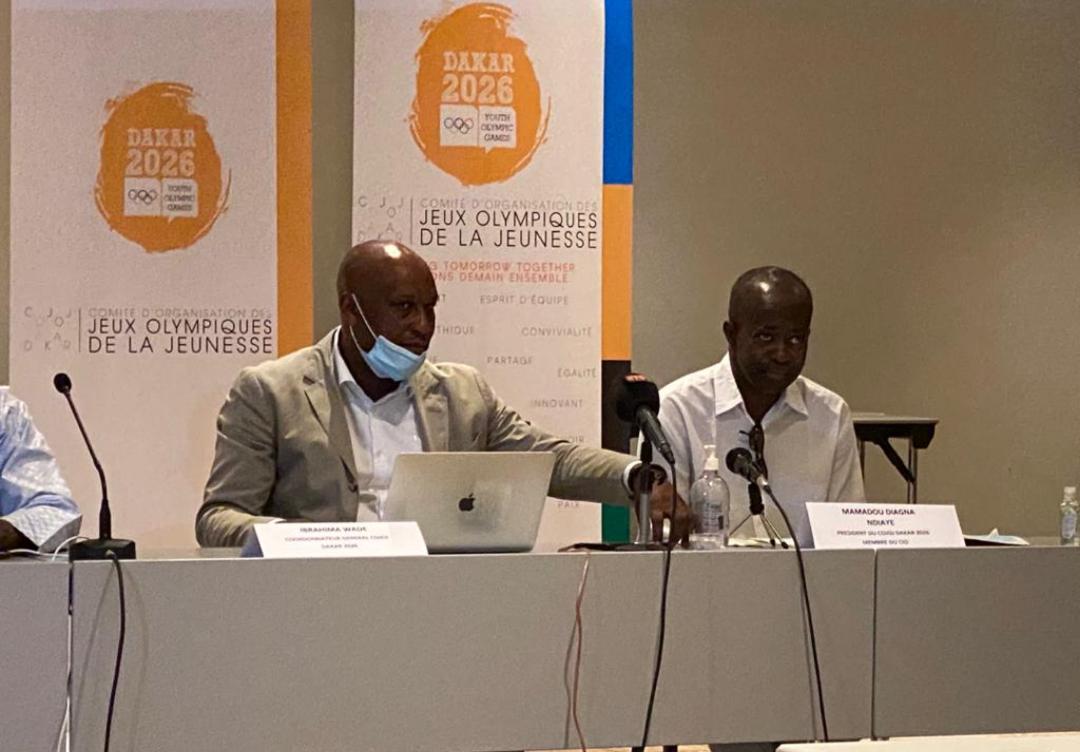 JOJ Dakar2026 : Le Sénégal décline son nouveau plan devant la Commission d'évaluation du CIO.