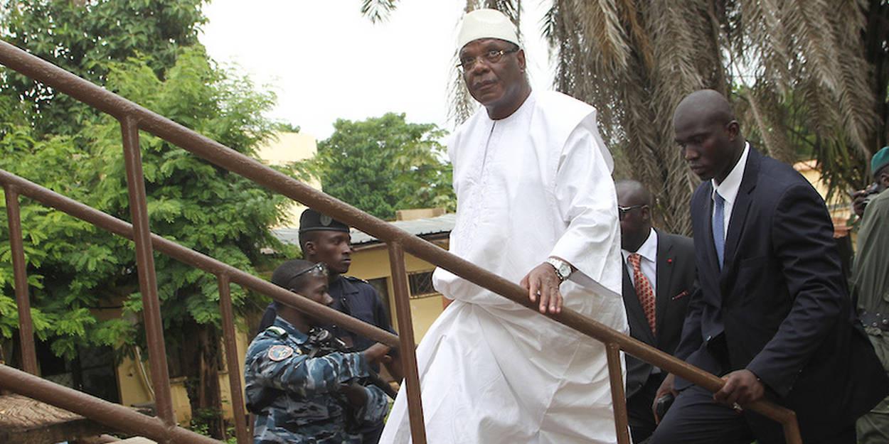 Mali : L'ancien président Ibrahim Boubacar Keita est rentré à Bamako.