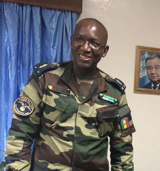 ARMÉE : Le général Joseph Mamadou Diop nommé chef d'état-major particulier du chef de l'État.