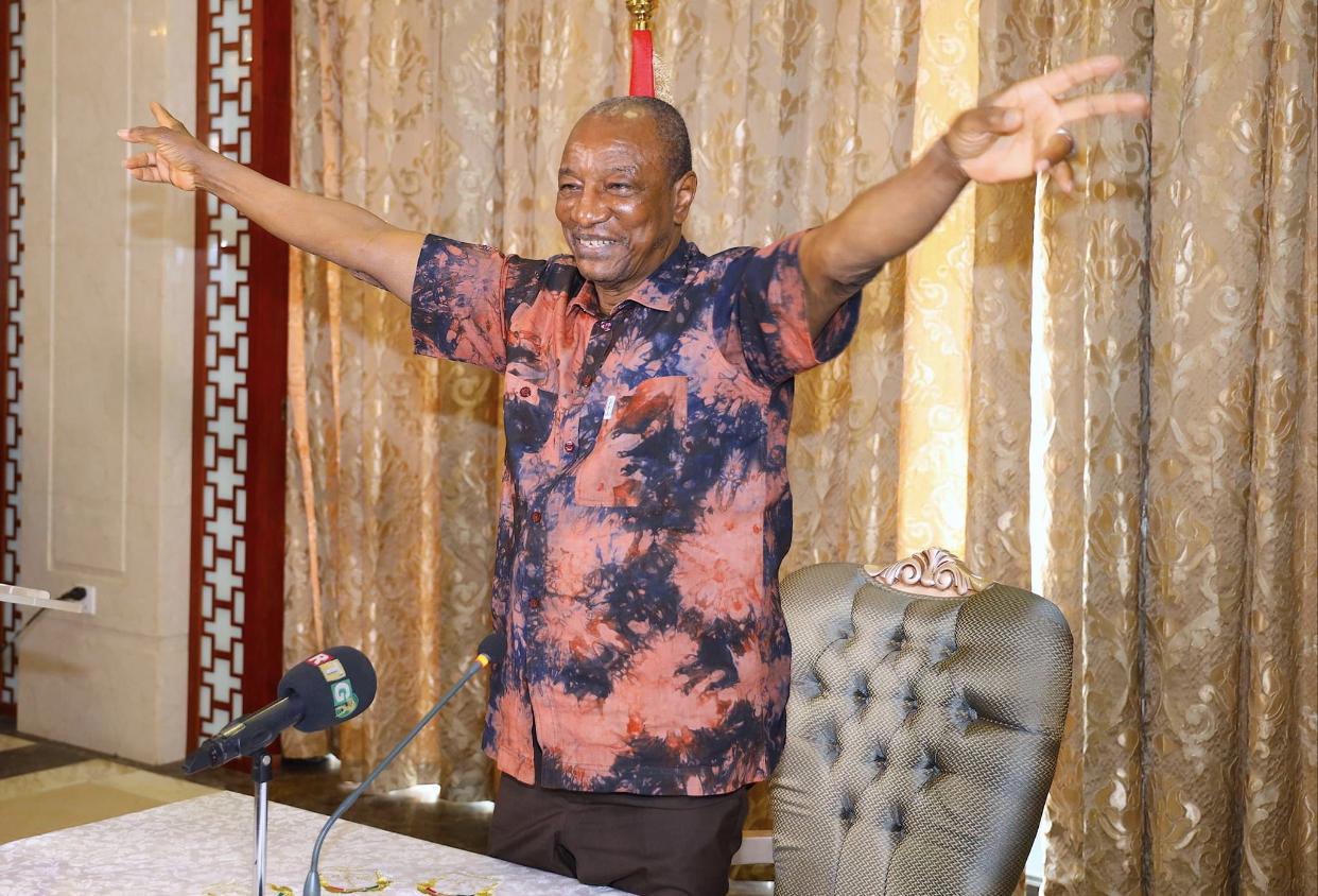 Urgent / Présidentielle Guinéenne : La CENI déclare Alpha Condé vainqueur au premier tour avec 59%.