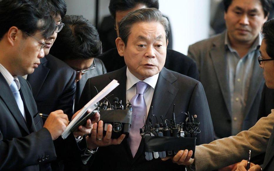 Télécommunications : Décès de Lee Kun-hee, président du groupe Samsung.