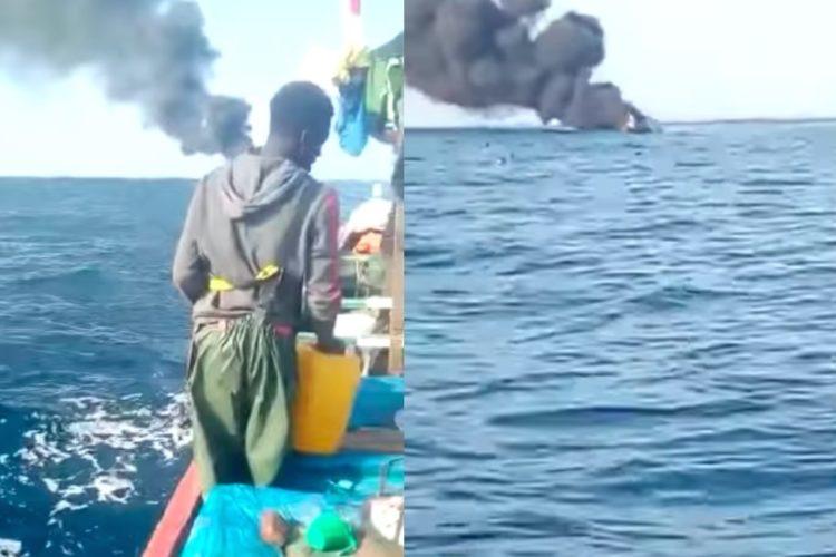 Explosion d'une pirogue de migrants : Dame Mbengue, un des rescapés, raconte l'accident.