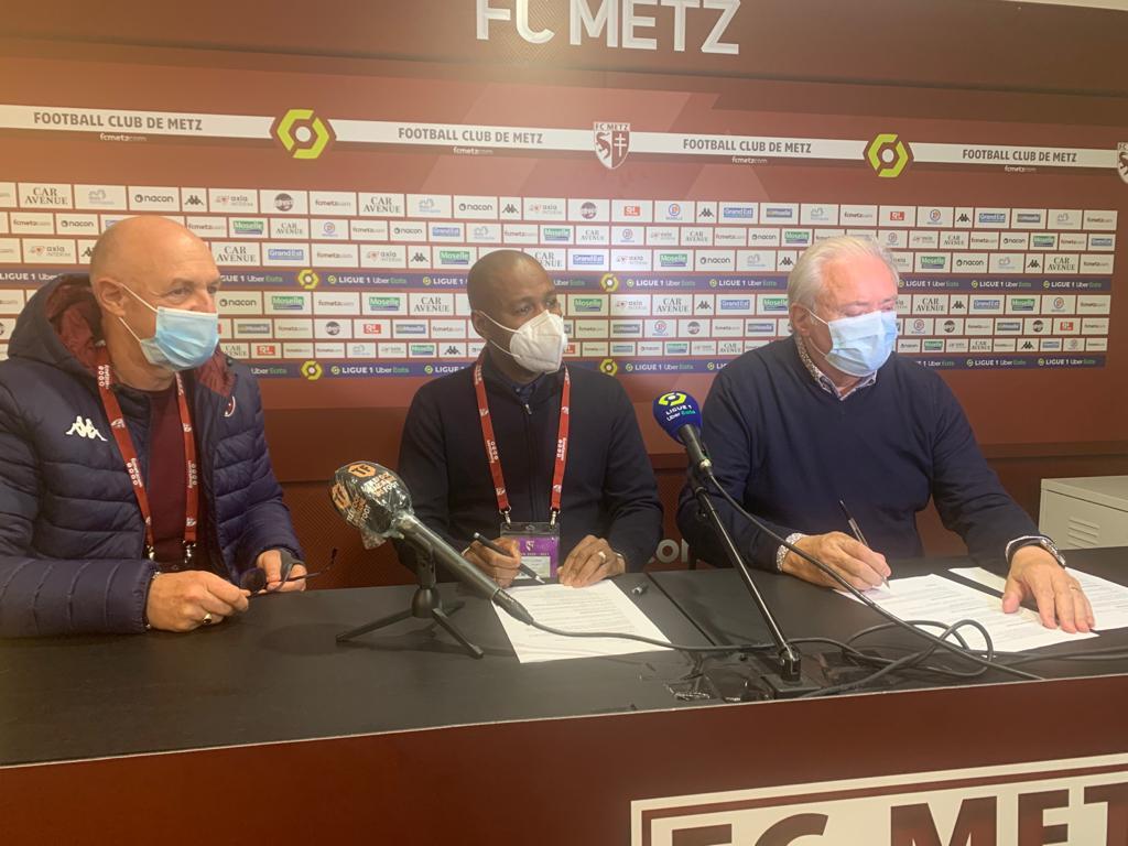 Convention de partenariat : Le FC Metz et Génération Foot remettent ça pour 10 ans !