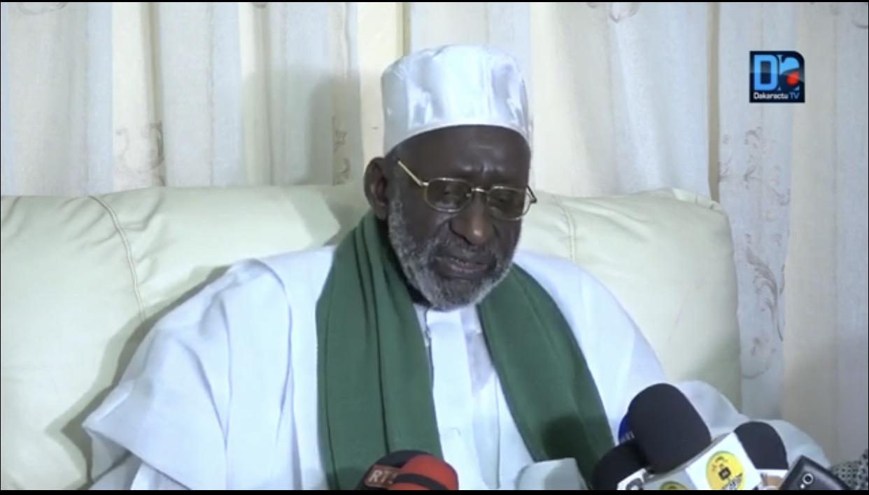 Thierno Madani Tall, Khalife de la famille Oumariennesur les caricatures du Prophète : «Ce qui font de telles choses doivent être...»