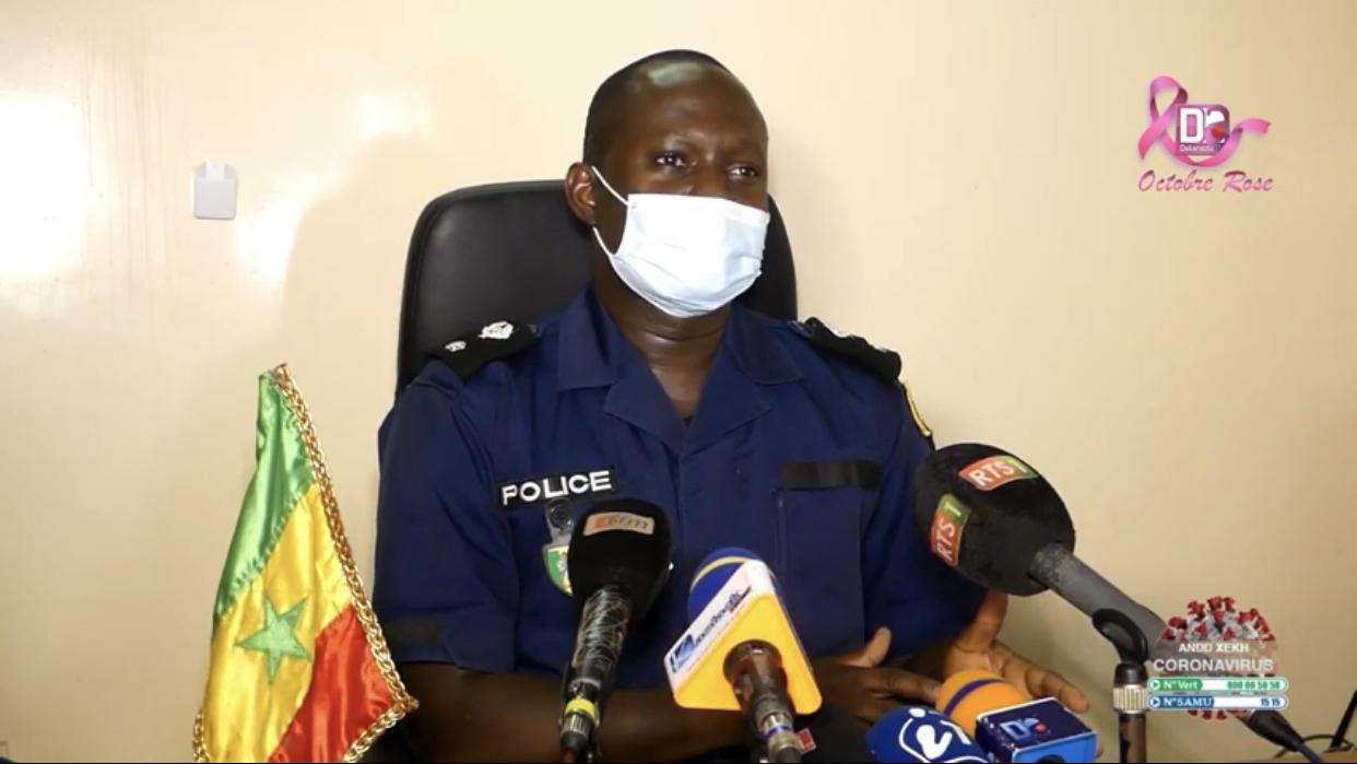 Kaolack / Bilan sécuritaire du Gamou 2020 : 316 individus interpellés par la police.