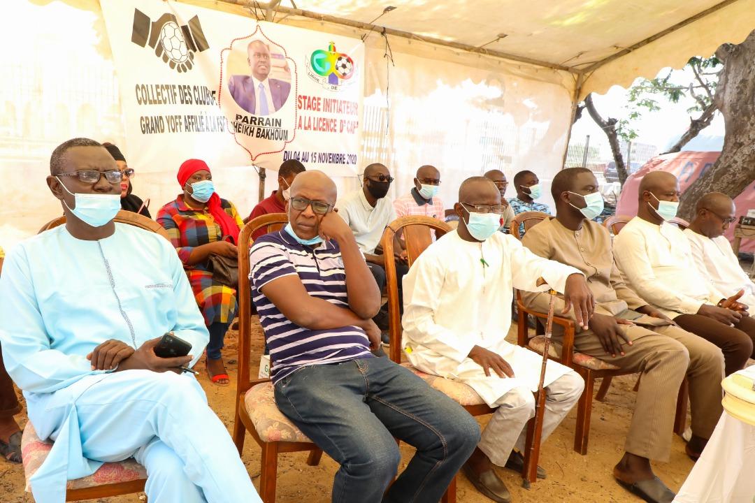 « Stage initiateur à la licence de la CAF » : Le parrain Cheikh Bakhoum apporte son soutien