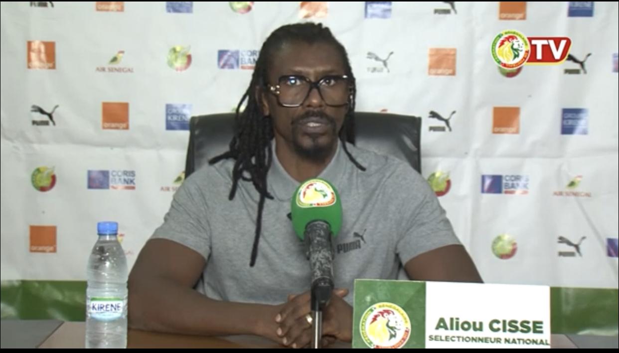 Aliou Cissé (Entraineur des Lions) : « Apporter du sang neuf, de la qualité et de la concurrence à l'équipe »