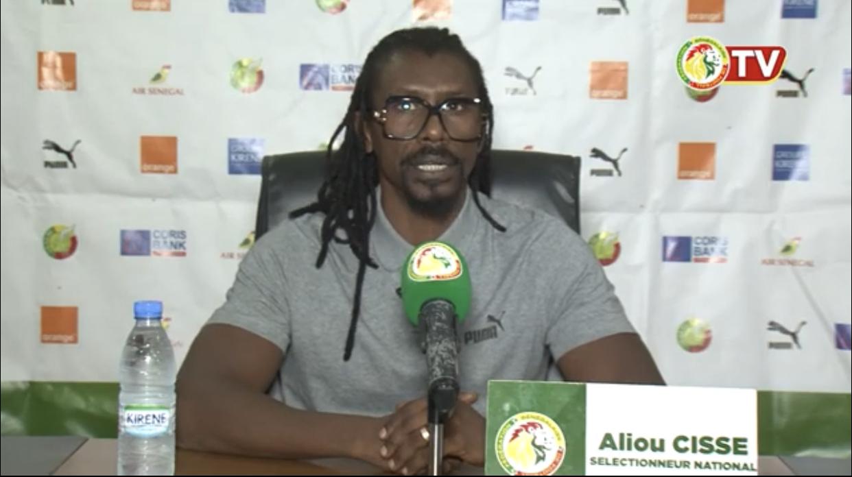 Derby Sénégal – Guinée Bissau : Aliou Cissé s'attend à une double confrontation difficile.