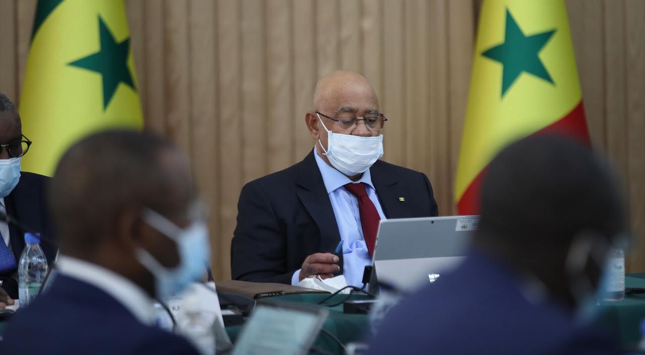 SÉNÉGAL : Les images du premier conseil des ministres du nouveau gouvernement.