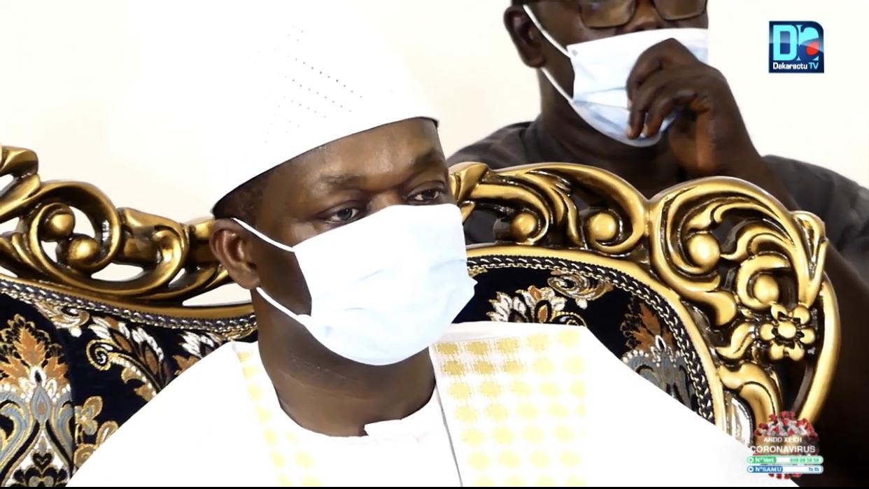 Gamou2020 / Ndiassane : «Le Président Macky Sall sollicite vos prières pour la paix et la stabilité du pays» (Alioune Sarr, ministre)
