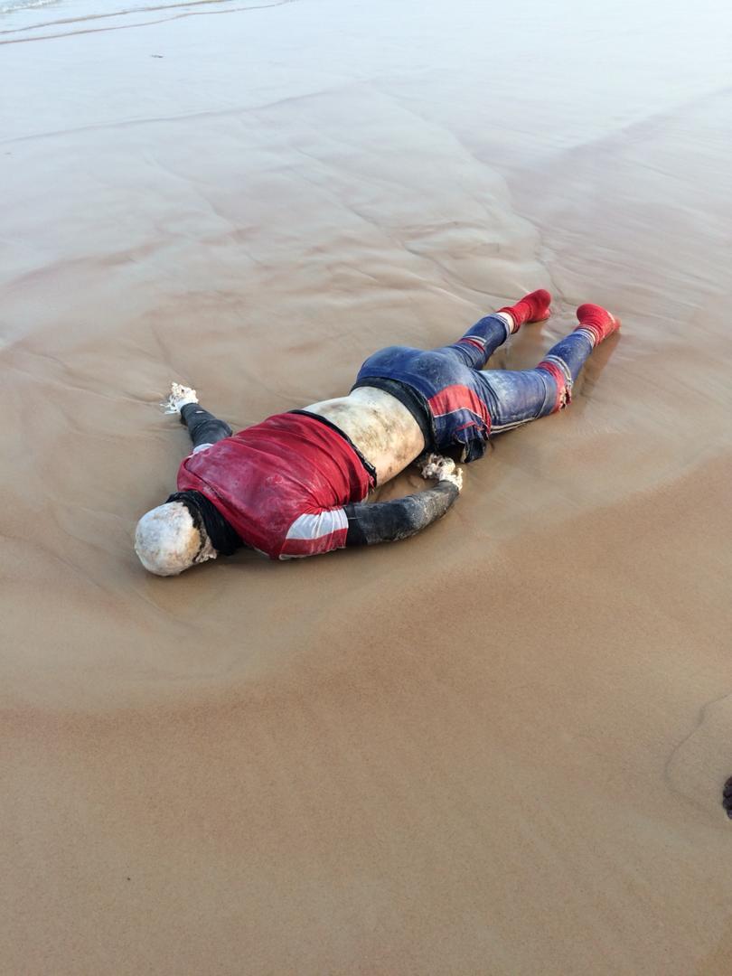 Guédiawaye : Découverte macabre d'un corps sans vie d'un homme sur la plage de Hamo 5.