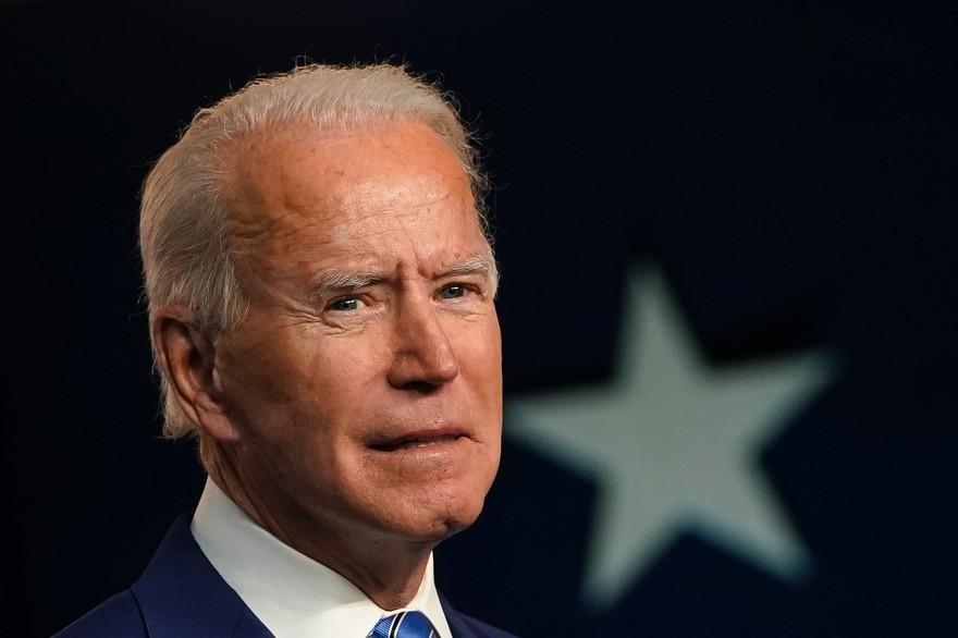 États-Unis : Portrait du nouveau locataire de la maison blanche, Joe Biden 46e président des Etats-Unis.