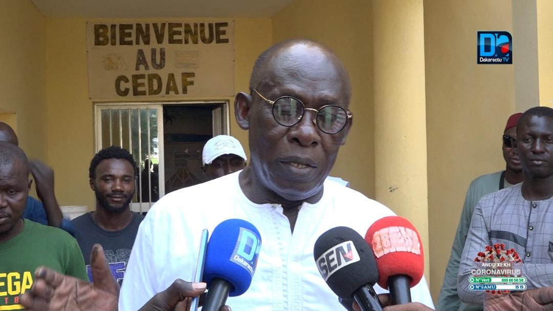 BABA TANDIAN À MBACKÉ : «Où est l'argent de l'Afrobasket ? Babacar Ndiaye est incompétent, il faut l'enlever !»