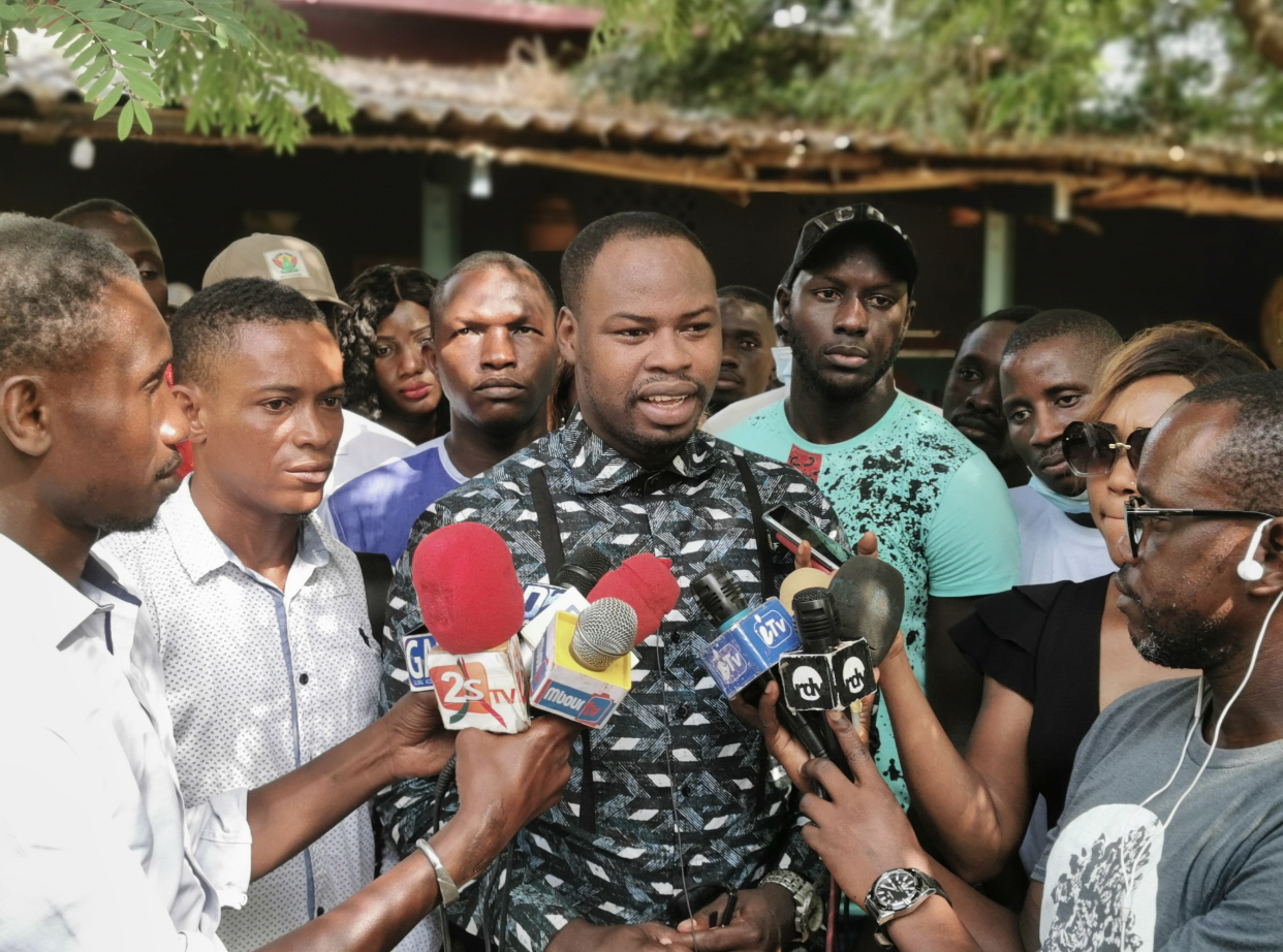 Mbour : Les Jeunes apéristes se prononcent sur l'immigration clandestine et la sortie de Oumar Youm du gouvernement..