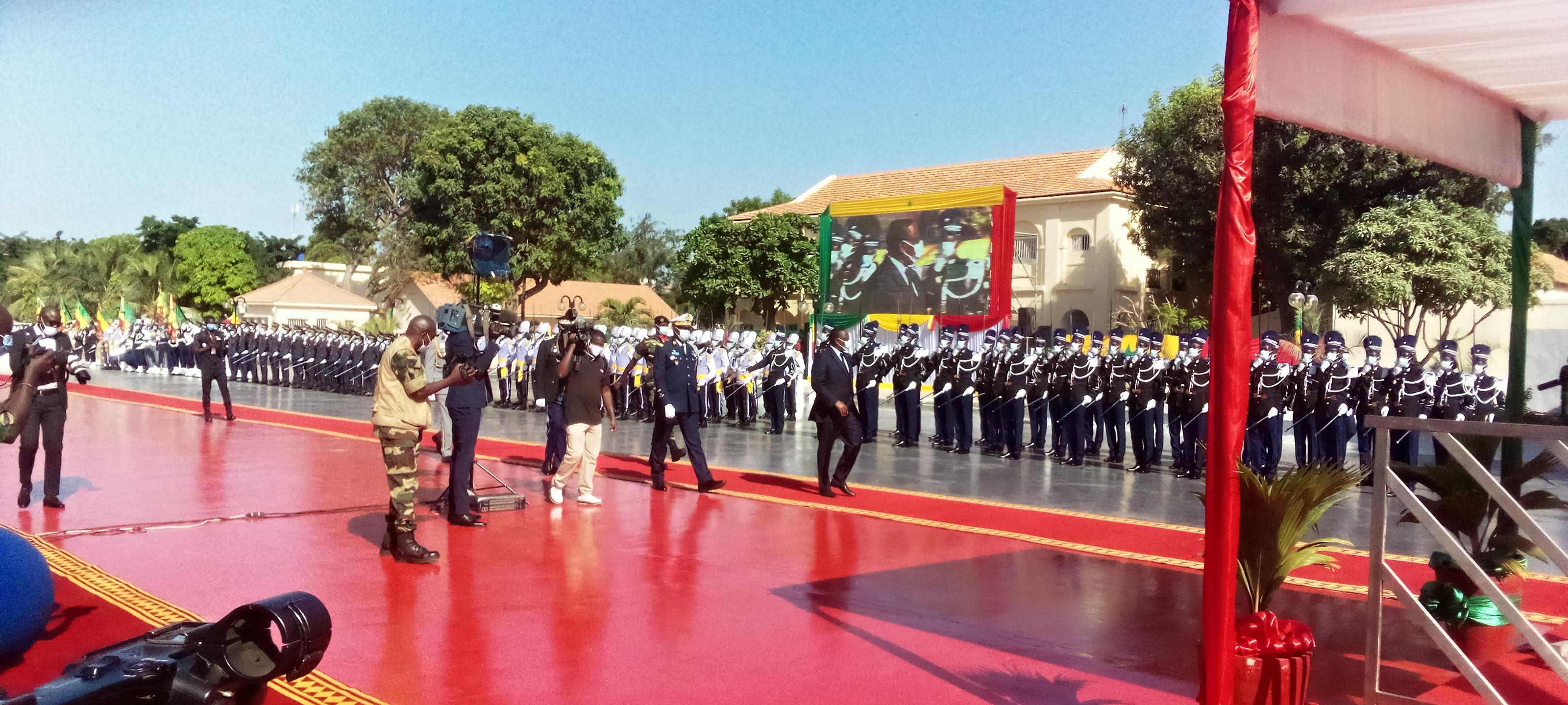 Journée des Forces Armées : La sécurité des frontières à l'honneur.