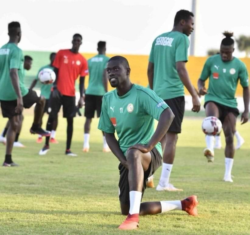 Équipe nationale : Dernier galop d'entraînement des Lions, à huis clos, avant d'affronter les Djurtus ce mercredi, à 16h00 GMT (Photos)