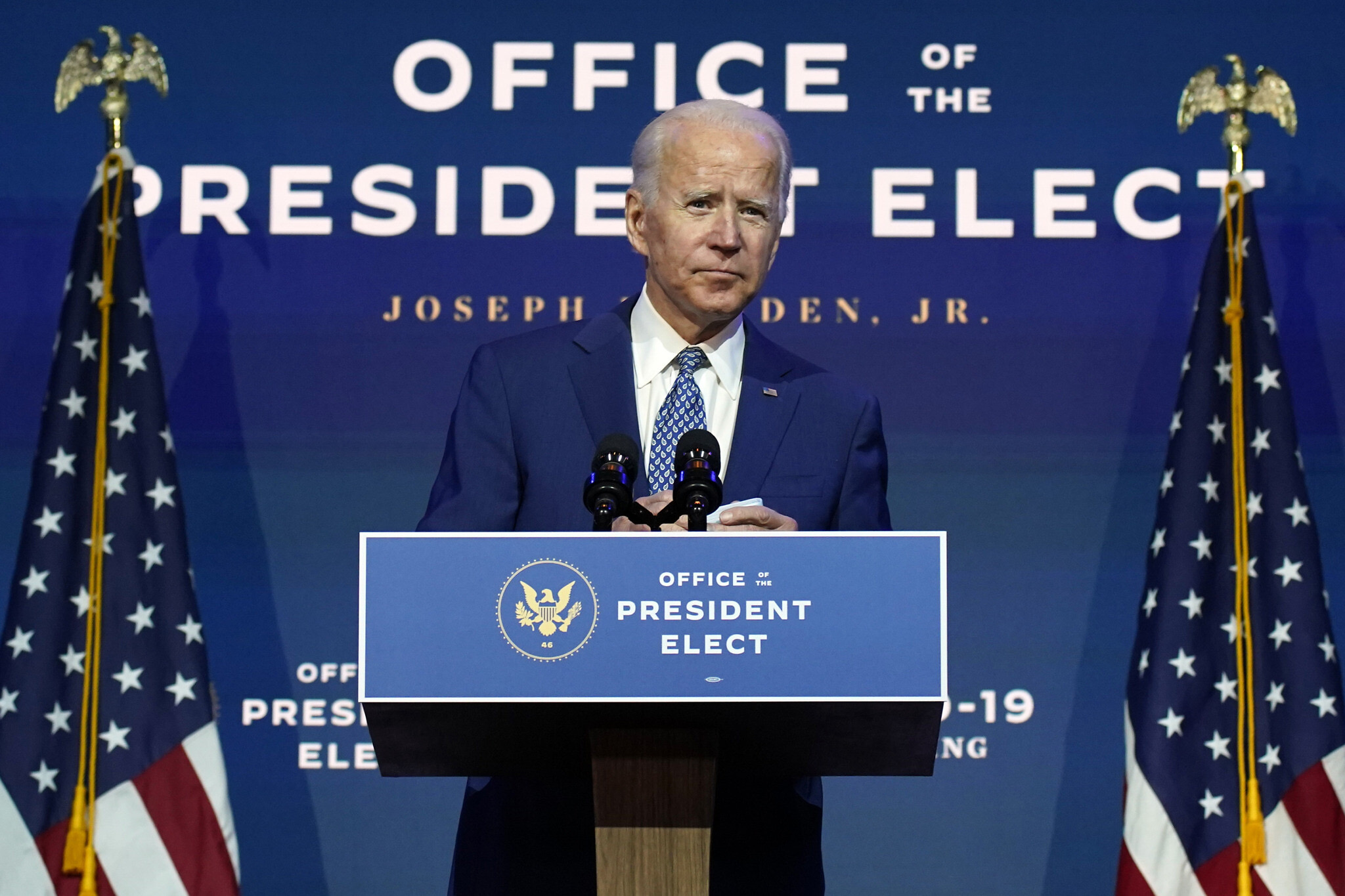 États-Unis : Pour Joe Biden, la transition « est déjà bien enclenchée »