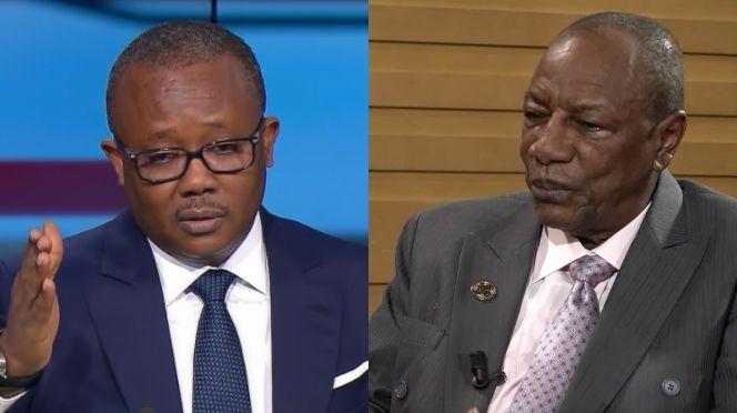 Réélection : Umaro Sissoco Embaló ne reconnait pas Alpha Condé comme président Guinéen