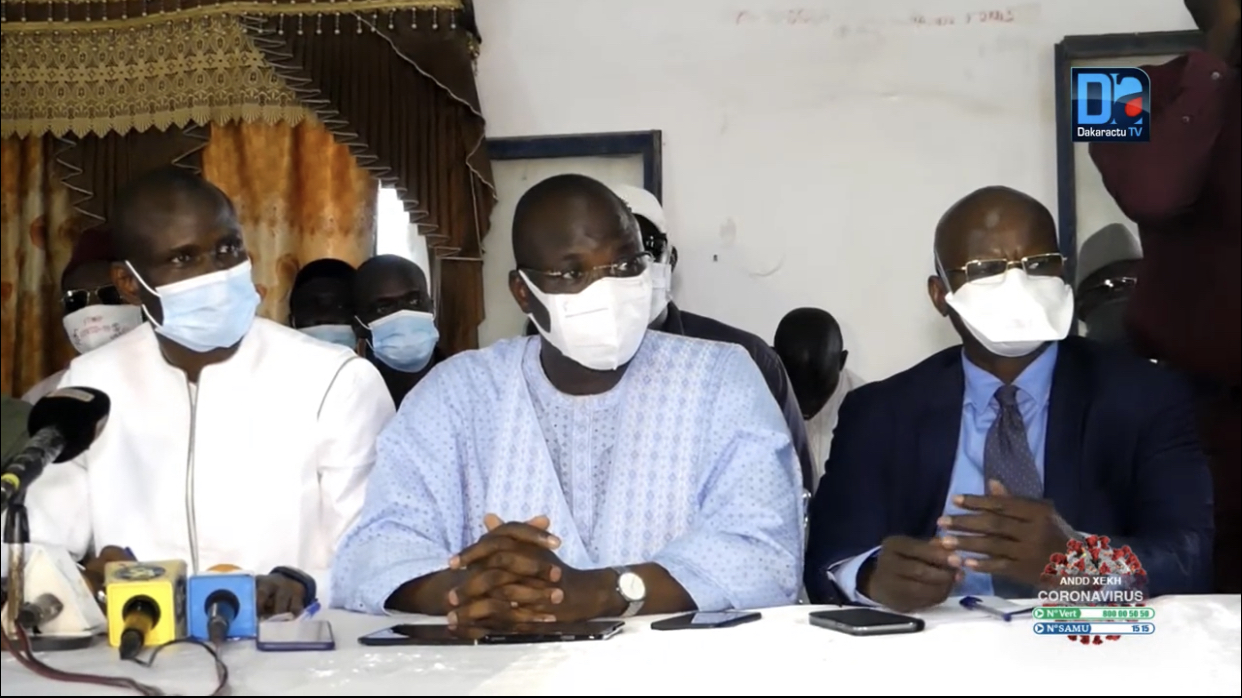 Élargissement de la majorité présidentielle : Le collectif des maires du département de Kaolack félicite le président Macky Sall.
