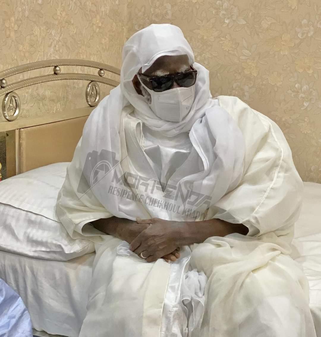 INCENDIE À TOUBA OCASS / Antoine Diome et 06 autres ministres chez le Khalife...Une enveloppe de 50 millions dégagée et une promesse de réfection du marché faite.