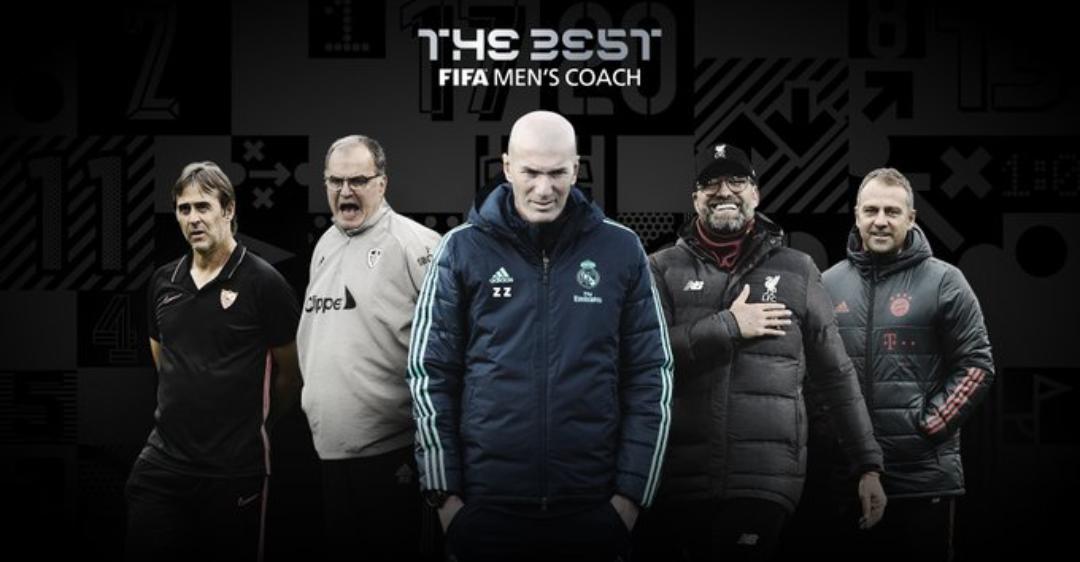 """""""The Best Coach"""" : La FIFA a dévoilé le top 5 avec Jürgen Klopp, Bielsa et Hans Flick en pôle position..."""