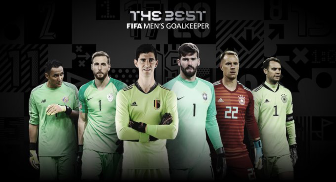 """FIFA """" The Best Gardien """" : Manuel Neuer revient aux affaires, Alisson Becker, Courtois et Oblak en embuscade..."""