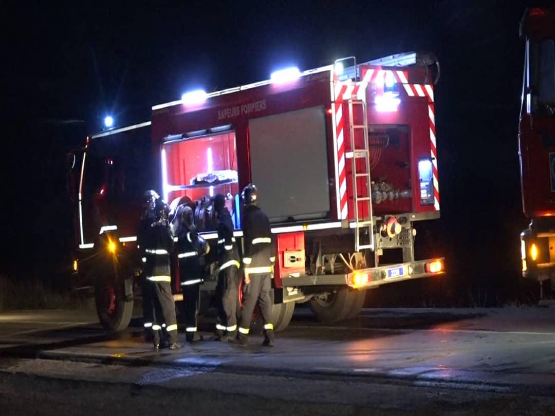 Incendie à Kahone  :Plusieurs blessés dénombrés et 04 personnes portées disparues.