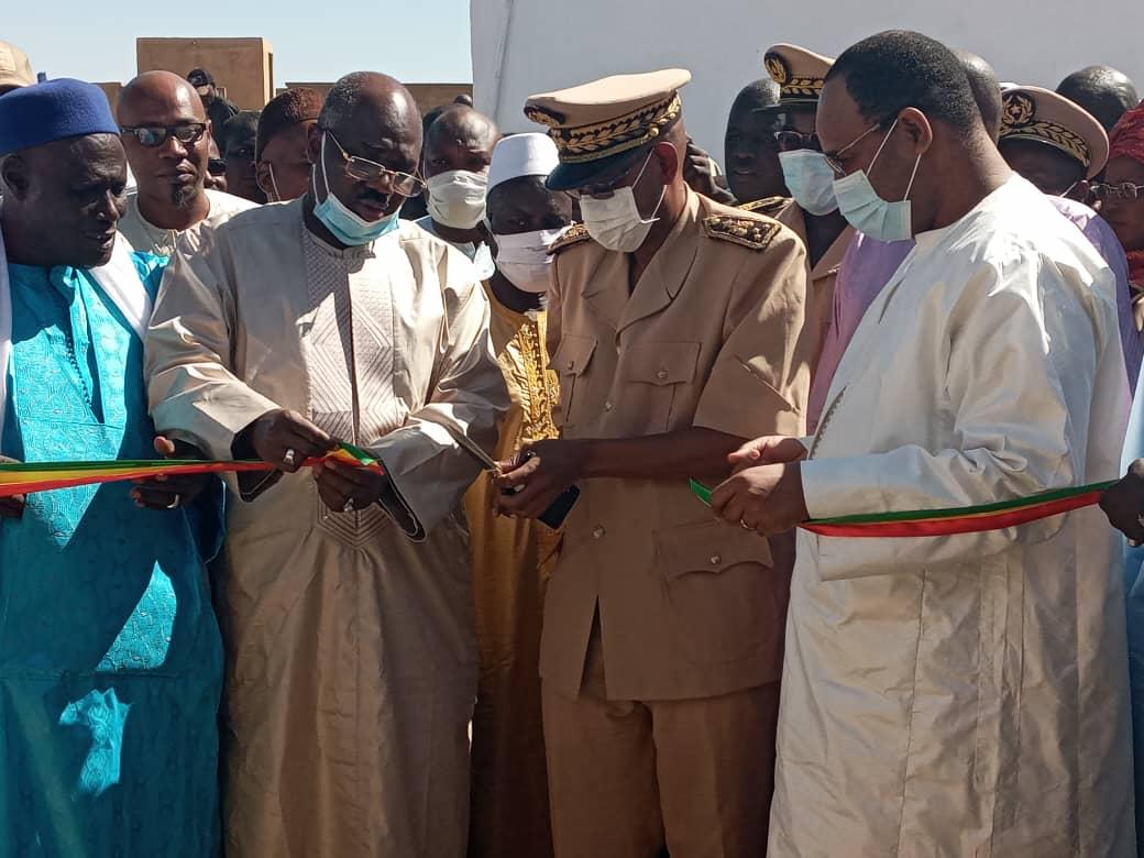 Matam/Inauguration : Ndiaffane Sorokoum tient son nouveau bureau de Poste.
