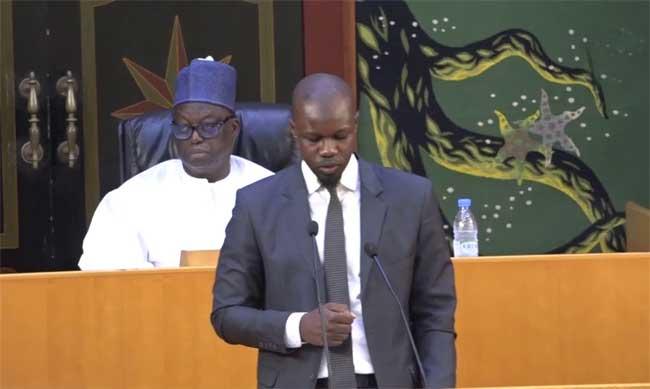 Sonko sur ses absences à l'Assemblée nationale : «J'ai un statut à défendre dans ce pays (...) Je ne peux pas me permettre...»