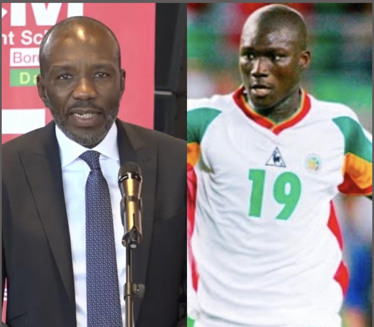 Dr Pape Madické DIOP rend hommage à Pape Bouba Diop.
