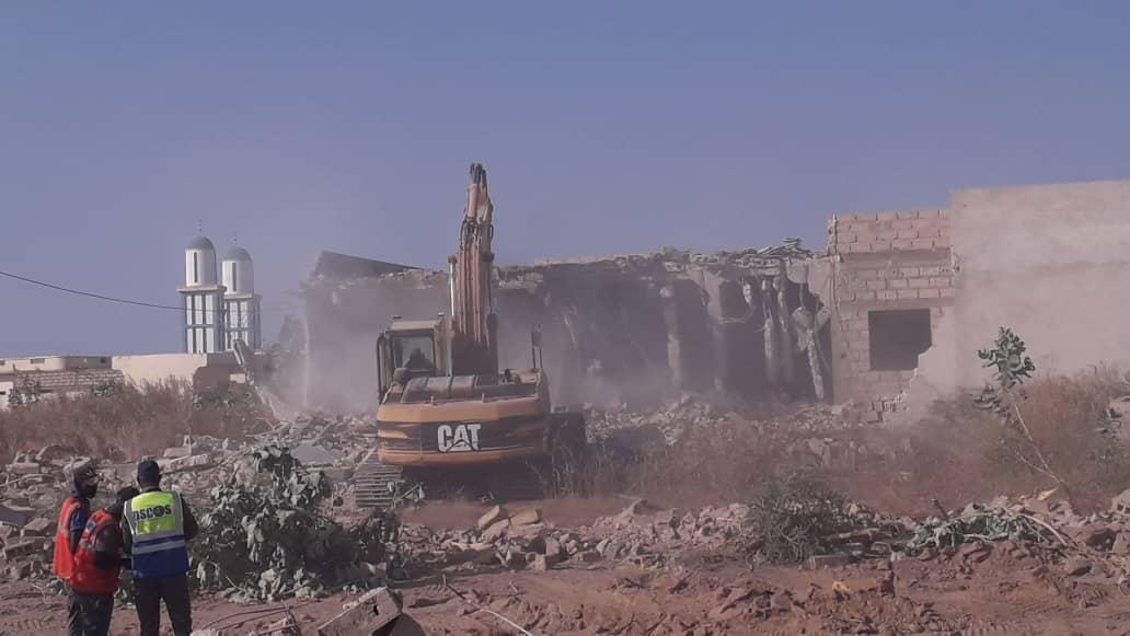 Kahone : Le déguerpissement a démarré sur le site de l'aérodrome de Kaolack sous les yeux impuissants des impactés.