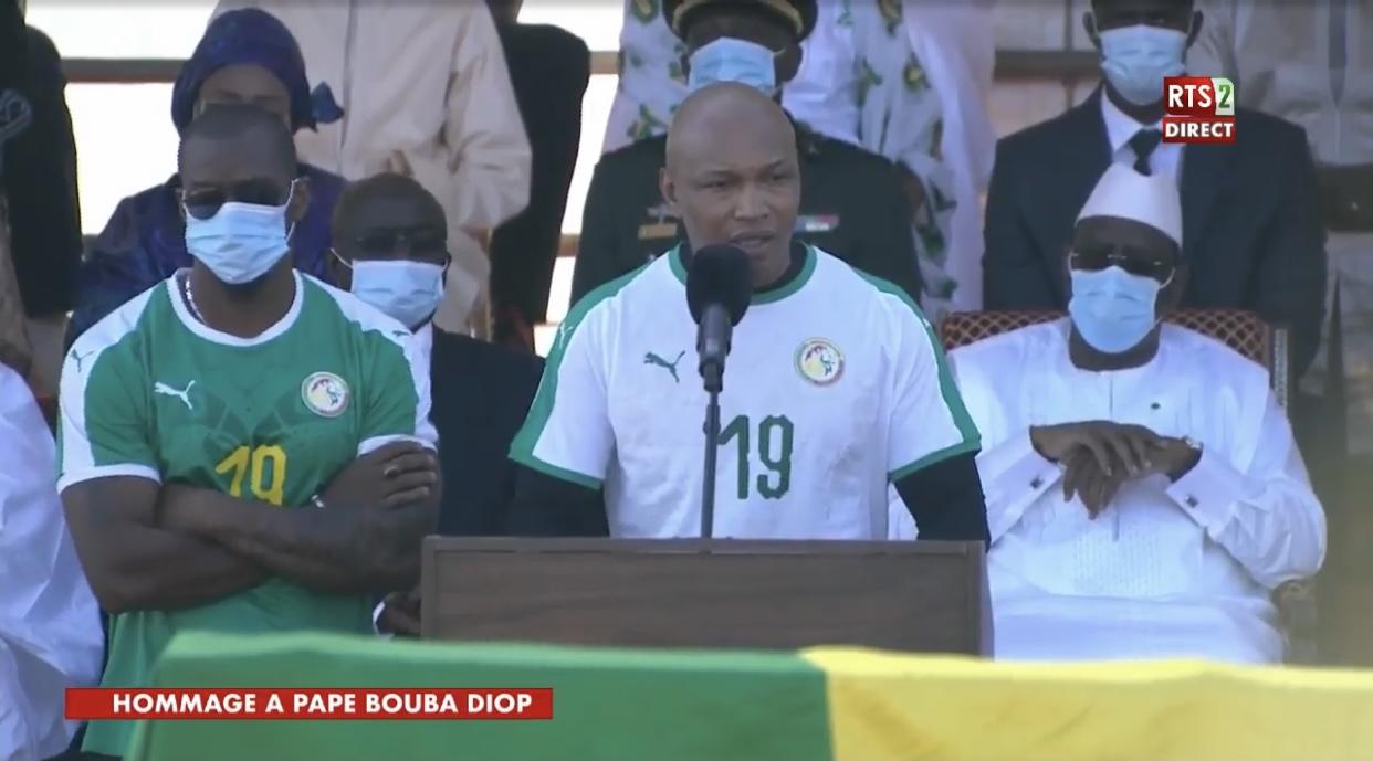El Hadji Diouf : «Papa Bouba a accompli avec dignité sa mission sur terre...»