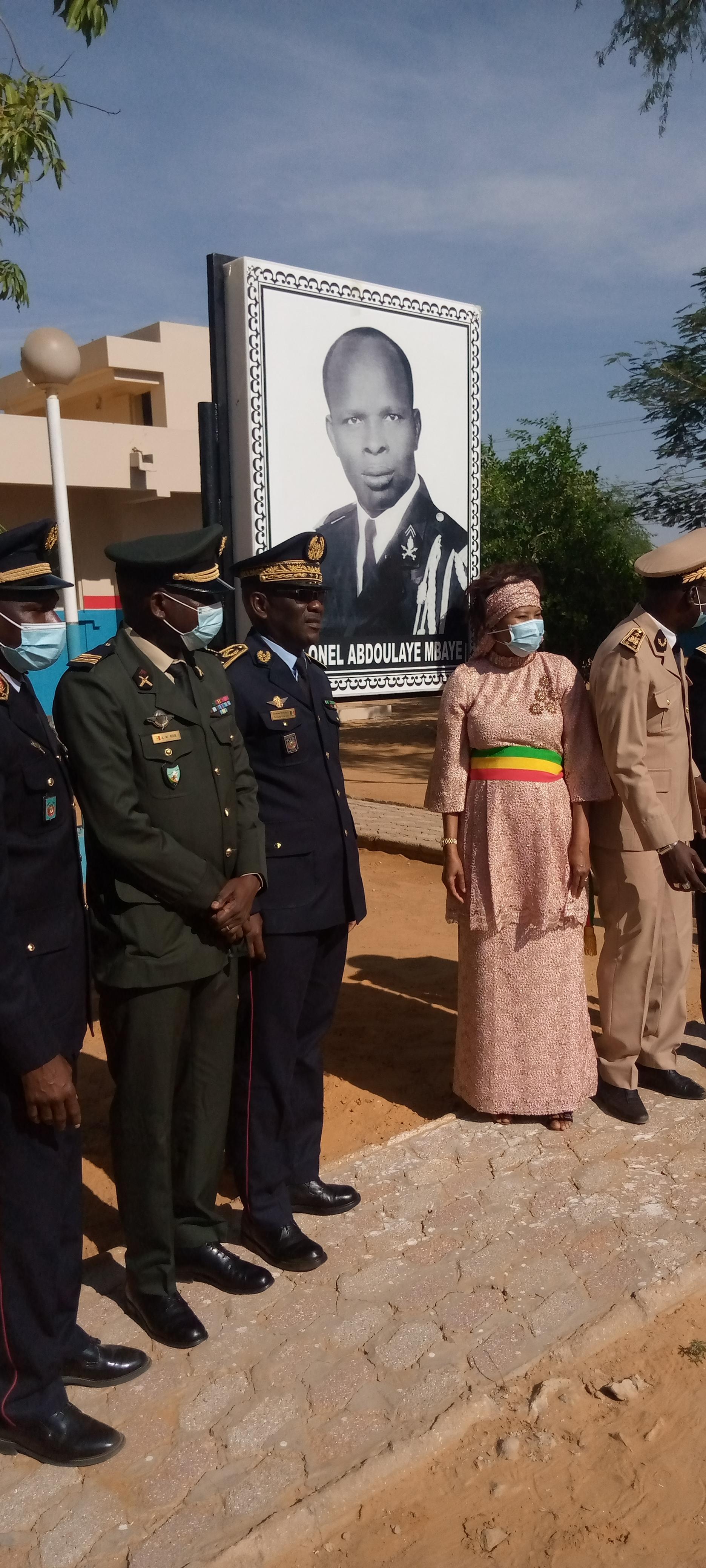 Podor : La caserne de la 53e compagnie baptisée au nom de feu Colonel Abdoulaye Mbaye.