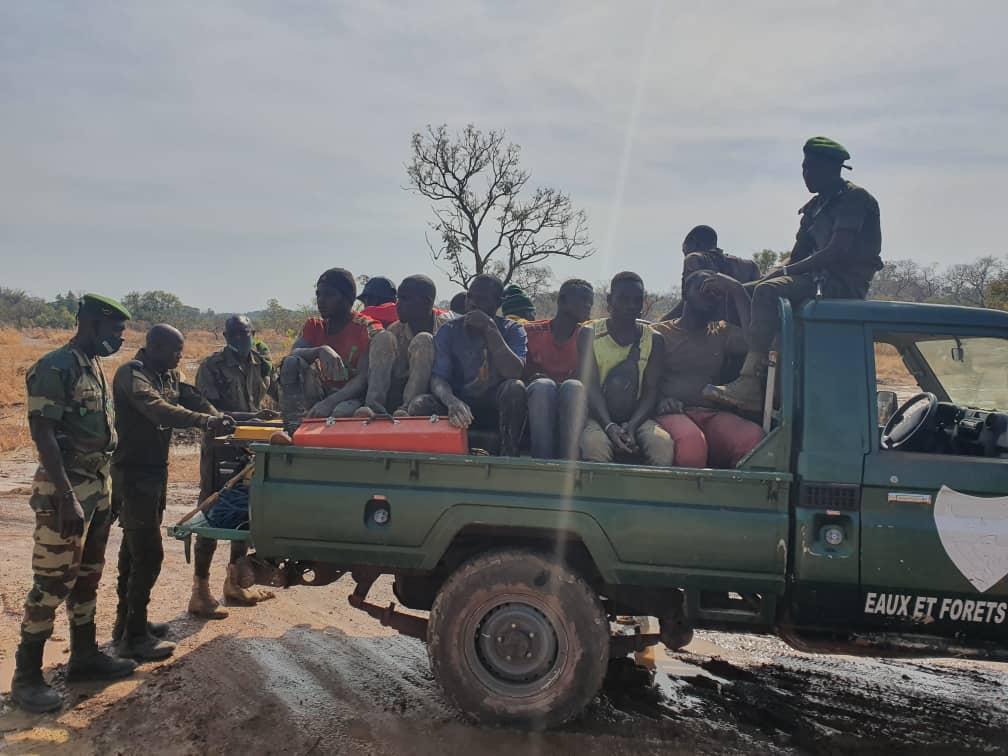 Saraya : 09 Maliens, 2 Guinéens, 14 Burkinabé et 01 Sénégalais, arrêtés...