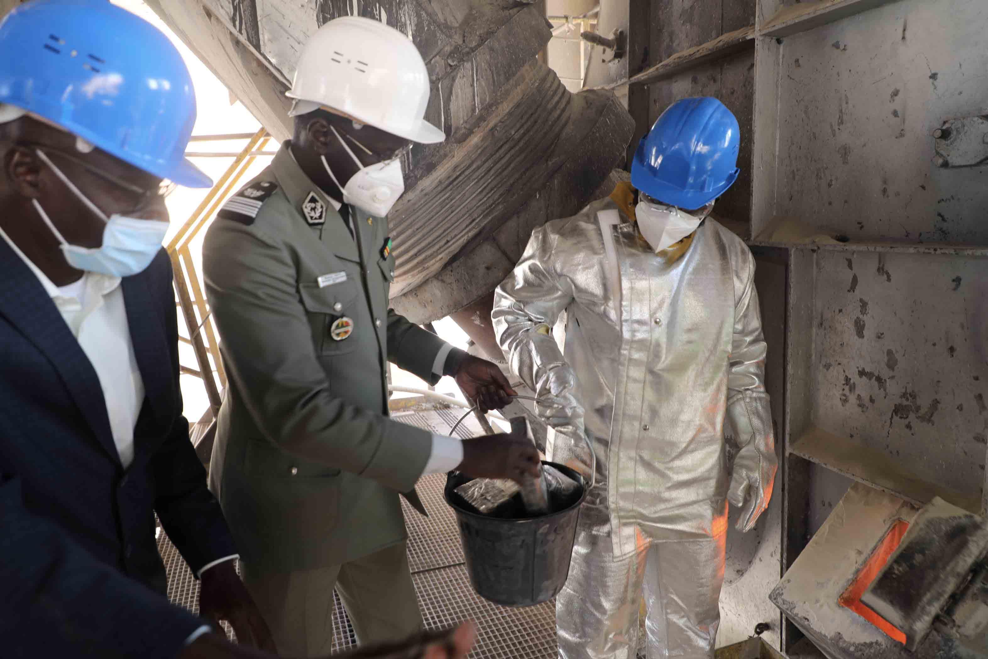 La Douane incinère des centaines de kilogrammes de Cocaïne et de Haschich