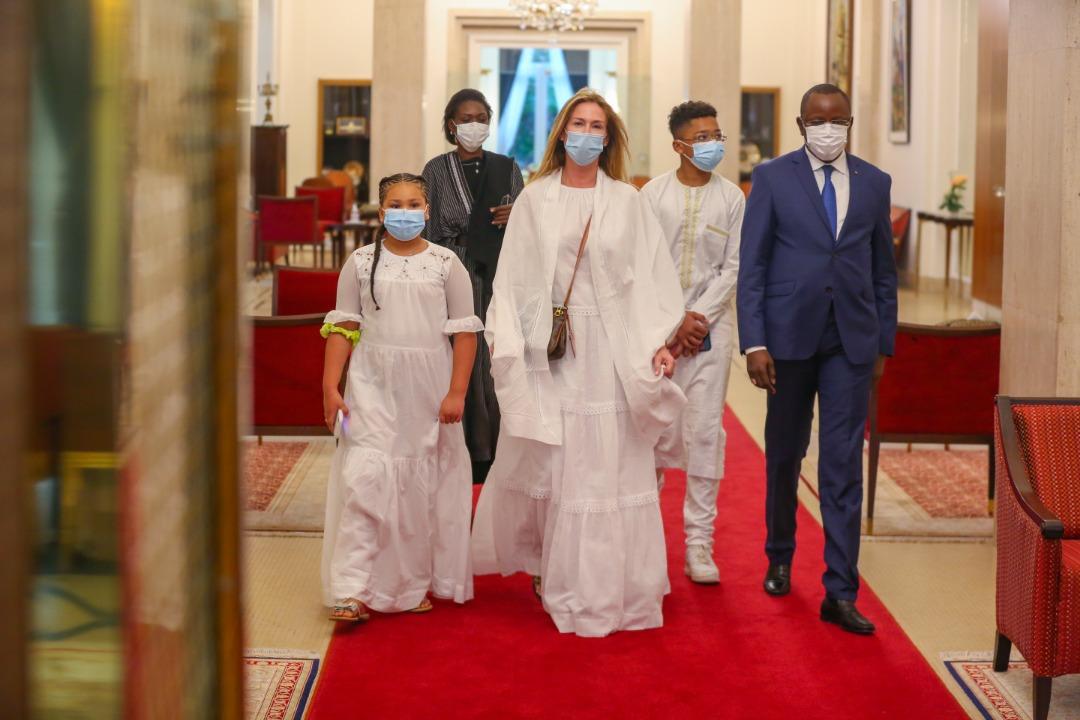 Palais de la République : La famille de Pape Bouba Diop reçu par le président Macky Sall.