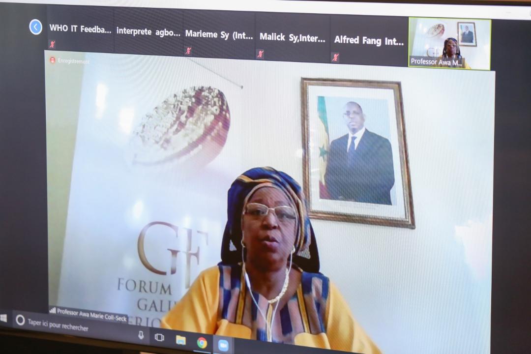 Ouverture de la 3ème édition du Forum Galien Afrique ce matin en visioconférence.
