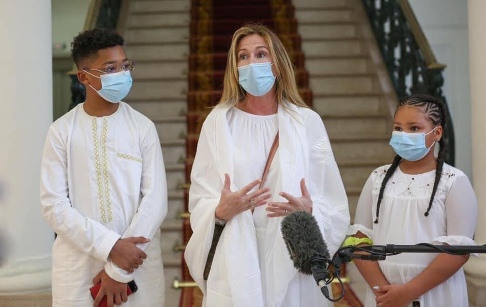 Marie Aude Diop (Veuve de Pape Bouba Diop) : « Il n'était pas timide mais humble… Mon nom musulman c'est Fatou Binetou... »