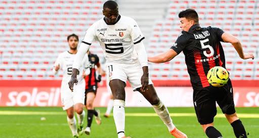 Ligue 1 : À nouveau titulaire, Mbaye Niang offre la victoire à Rennes 1-0 contre Nice.