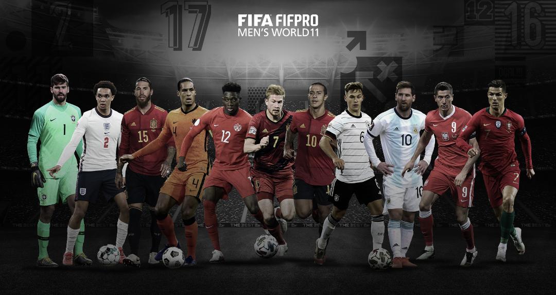 FIFA The Best 2020 : Le onze type sans Sadio Mané ni Manuel Neuer, CR7 et Messi avec Lewandowski.