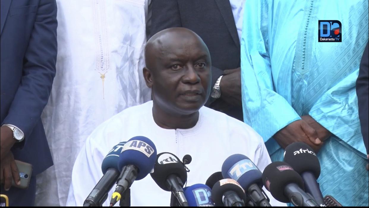 Les condoléances de Idrissa Seck suite au décès de Soumaïla Cissé.