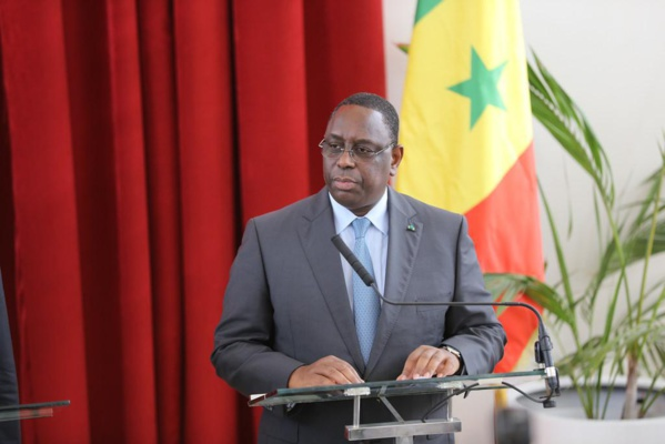 Décès de Idrissa Diallo : Les condoléances du président Macky Sall.