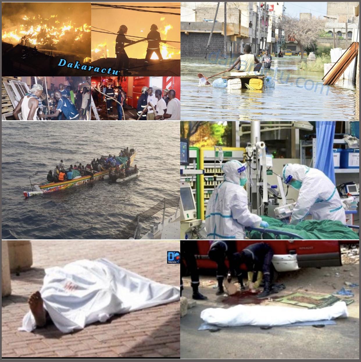 ACCIDENTS MORTELS, BARÇA OU BARSAKH, CORONAVIRUS, INCENDIES, INONDATIONS (...) L'an 2020 s'éclipse sous un lot de catastrophes et de tragédies.