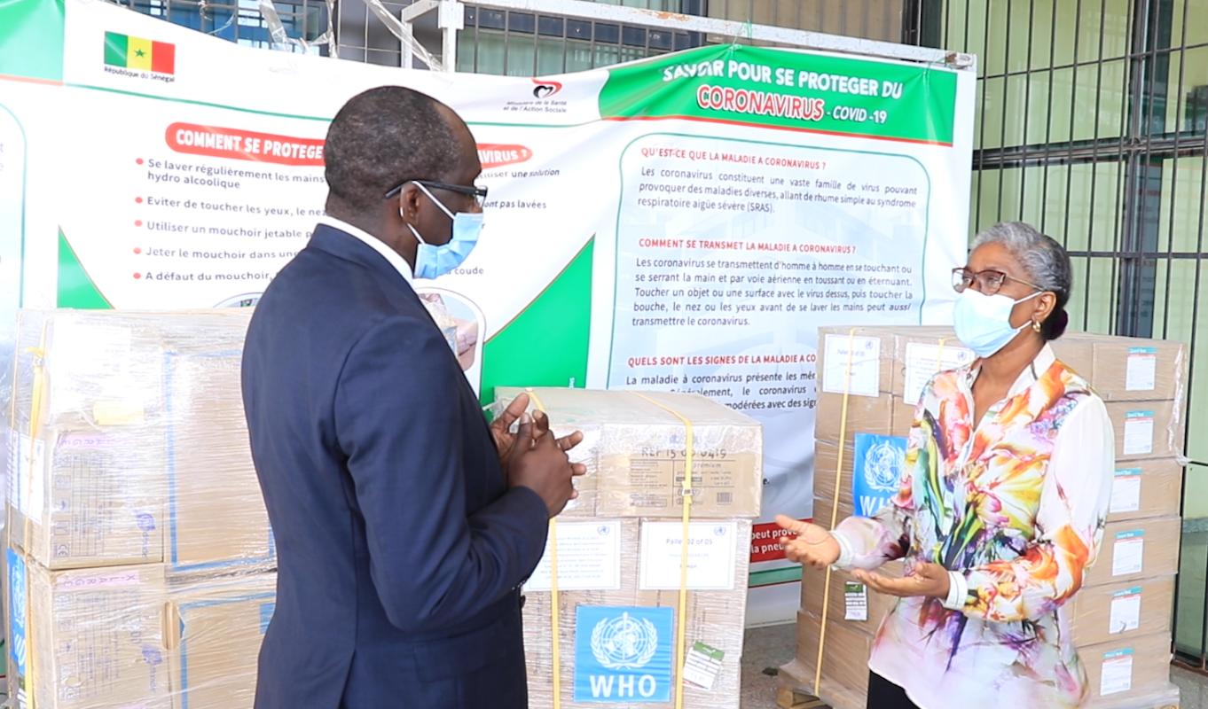 Mesures et stratégies d'endiguement de l'épidémie de Covid-19 : Le Sénégal cité en exemple.
