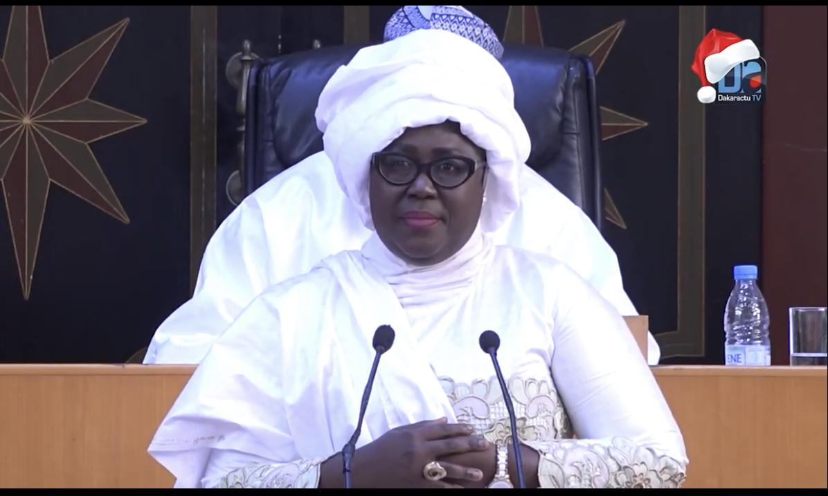 Discours du nouvel an : «Le message du chef de l'État a été rassurant et convaincant» (Adji Mbergane Kanouté)