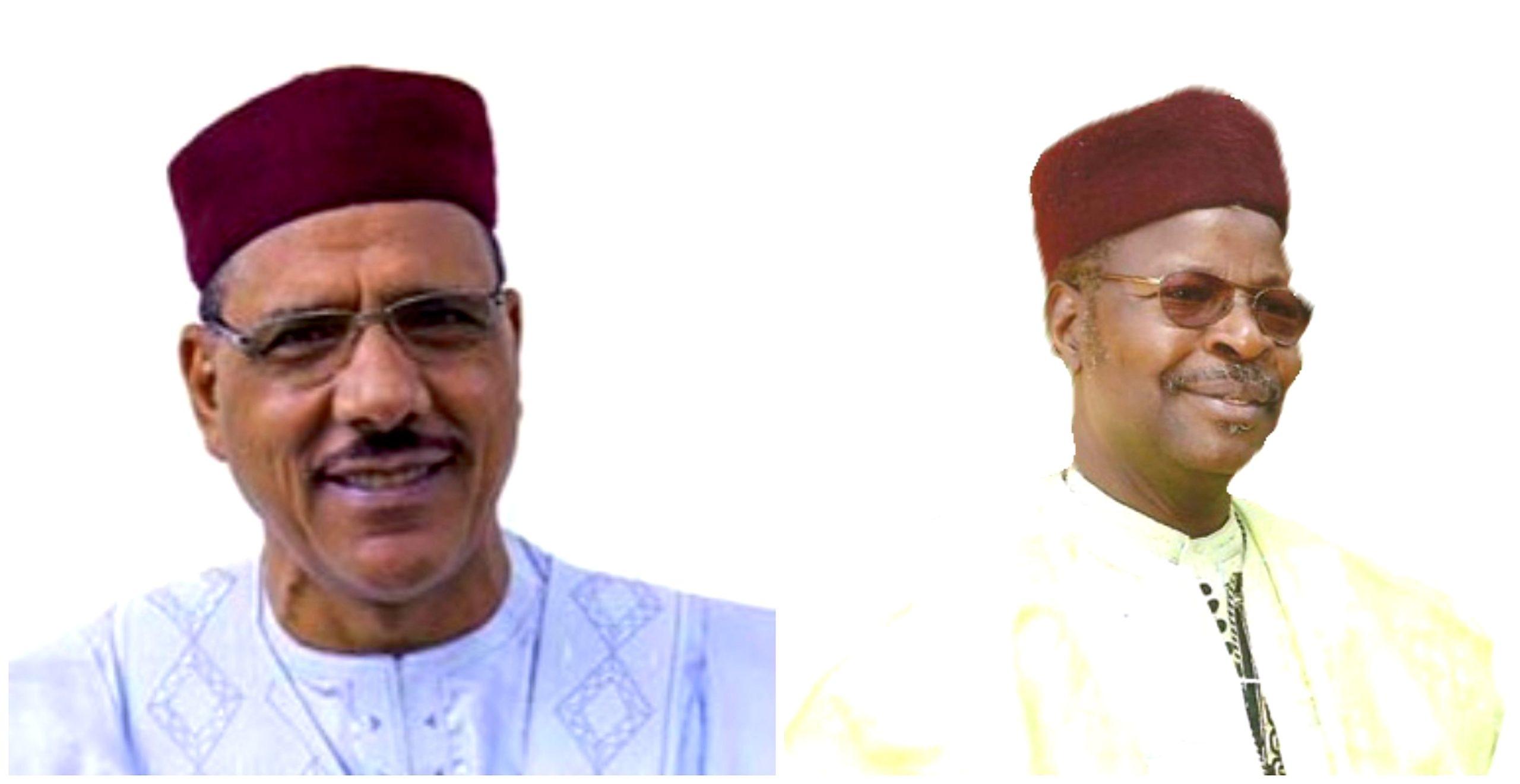 Présidentielle Niger : Bazoum Mahamane admis au second tour avec Mohamed Ousmane.