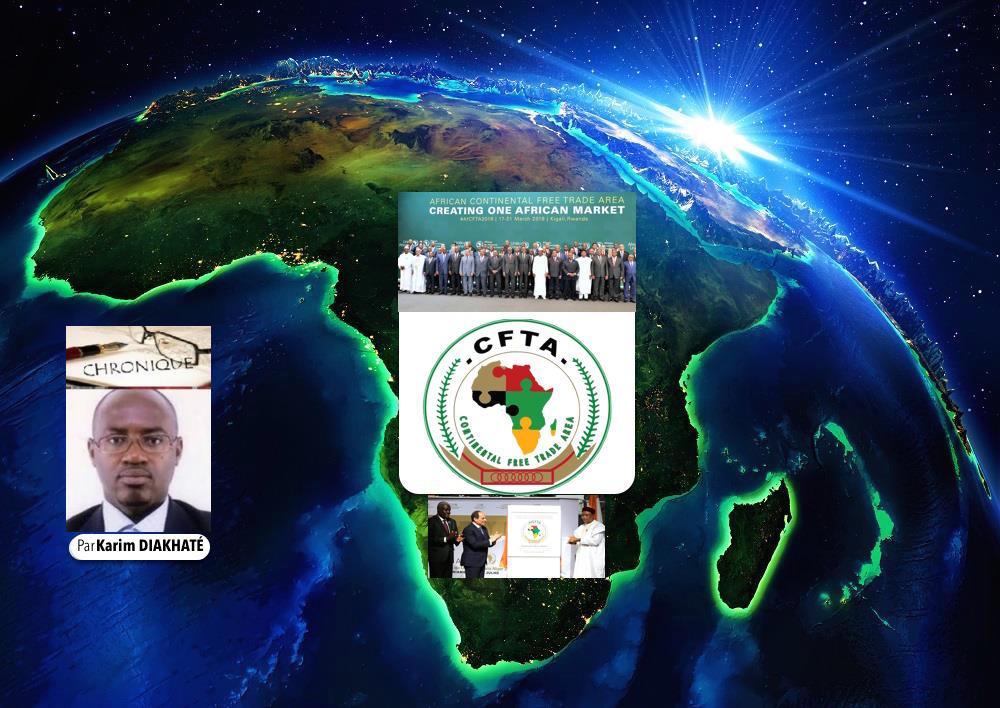 CHRONIQUE DU LUNDI 4 JANVIER 2021 - Entrée en vigueur de la ZLECAF : Le temps de l'Afrique !