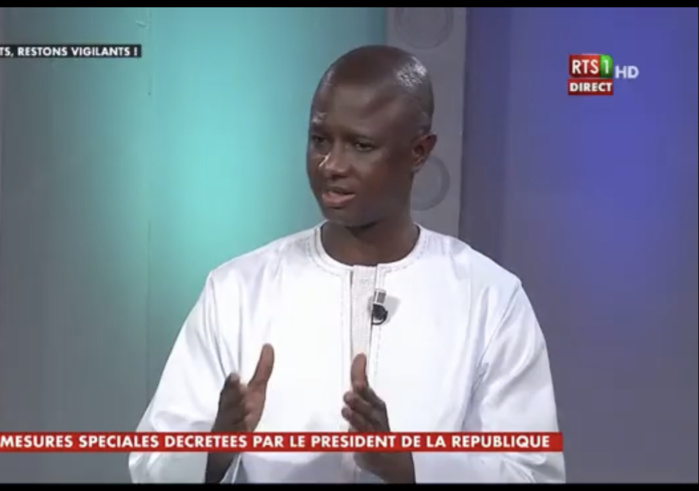 Antoine Félix Diome, ministre de l'Intérieur : « Si des sanctions doivent être prises, on ne le souhaite pas, ce sera dans le cadre normal des choses »