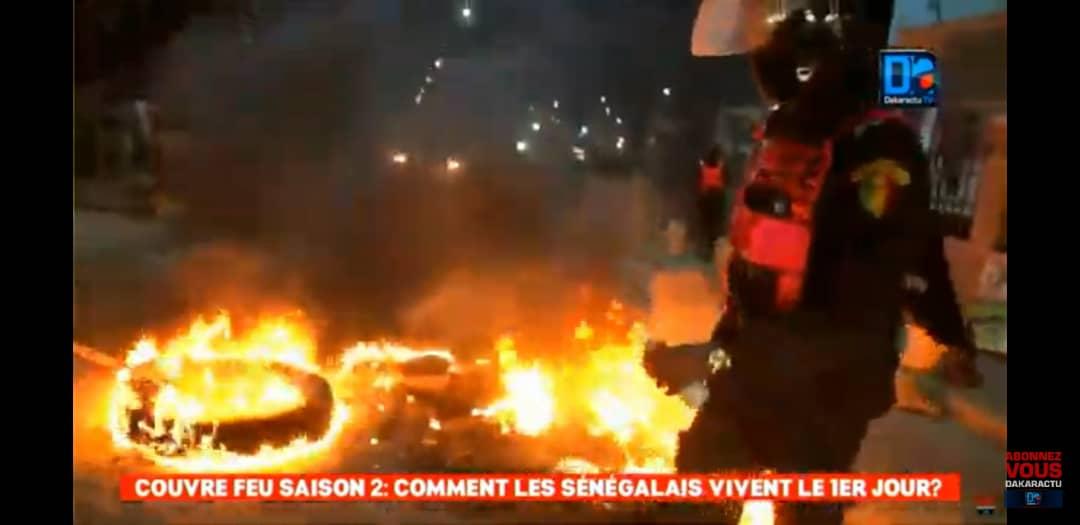 1er jour couvre-feu Acte 2 état d'urgence : des émeutes déclarées à Niarry Tally