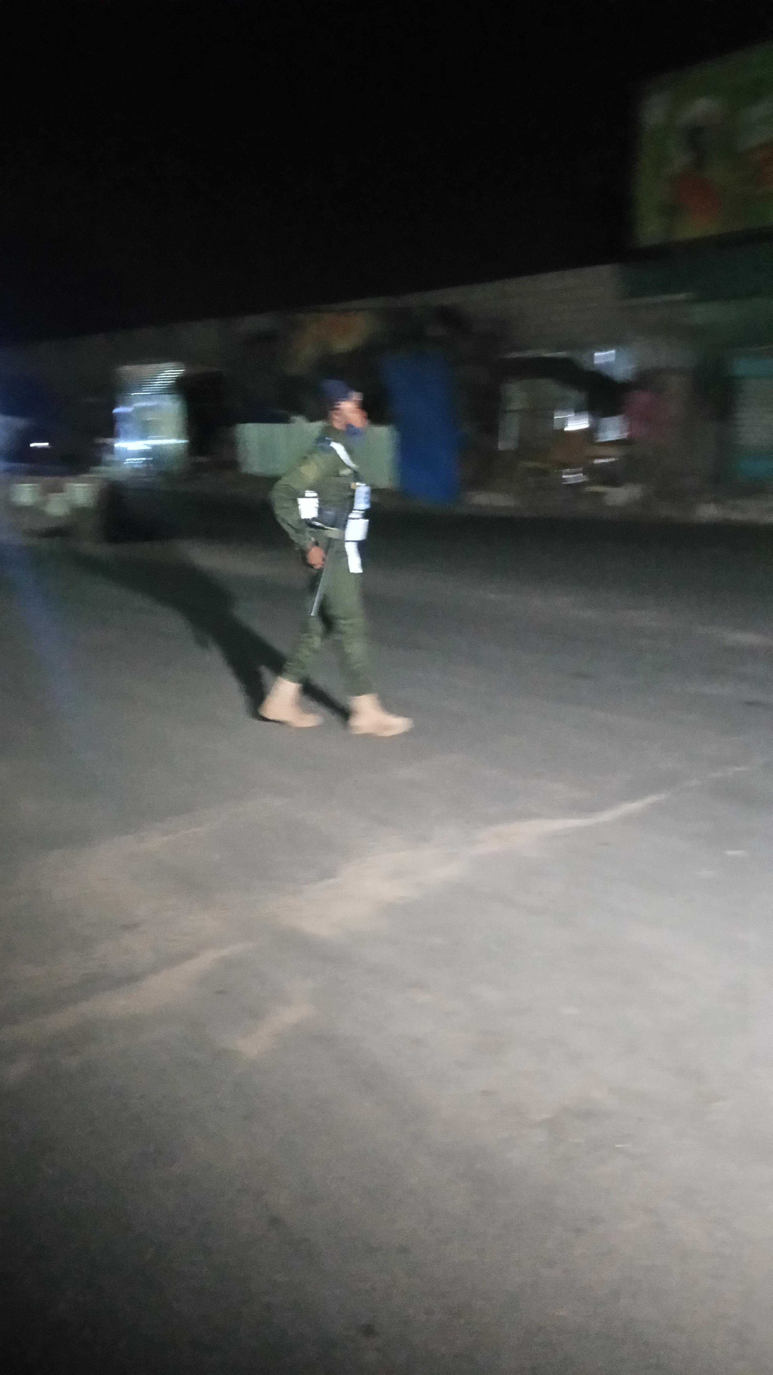 1er jour de couvre-feu : Un silence assourdissant dans les rues de Pikine.